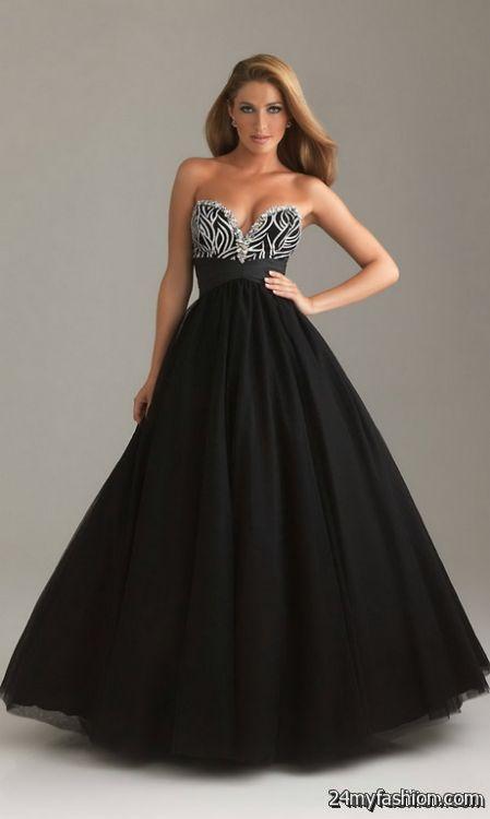 Black ball dress review