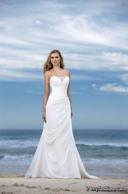 Informal beach wedding dress review