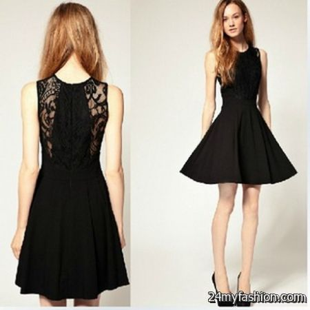 Lace little black dress review