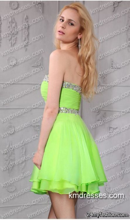 Lime green party dresses review