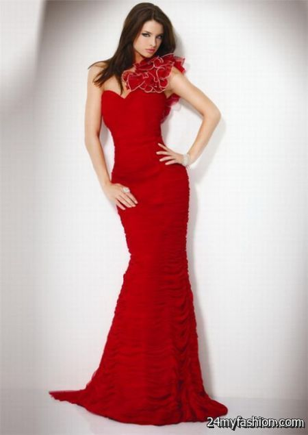 Long red dresses for women review