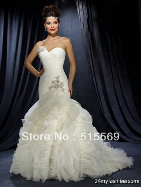 Most beautiful bridal gowns review