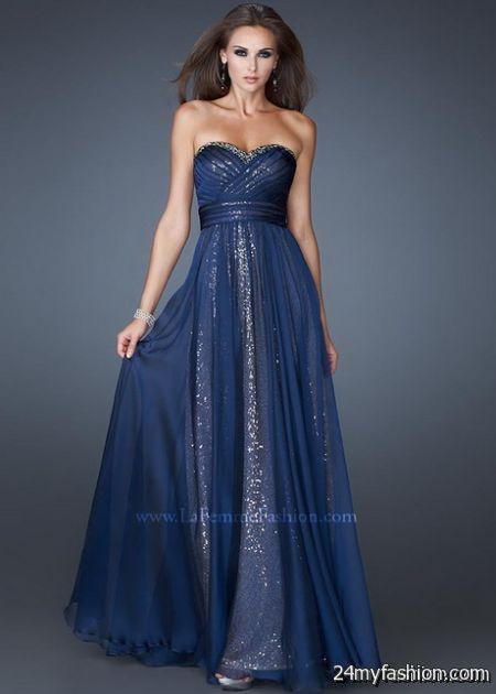Navy blue evening dresses review
