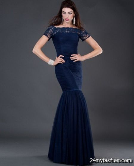 Navy evening dresses review