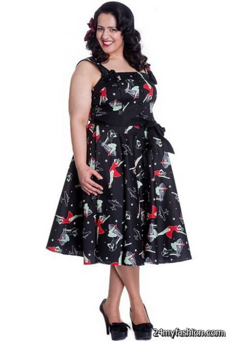 Plus size pin up dresses review