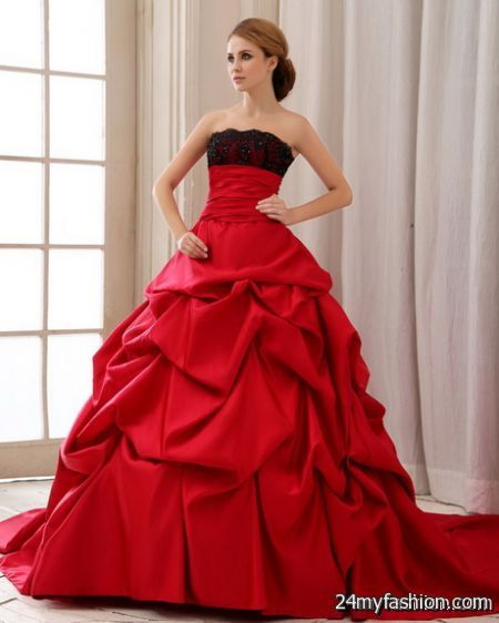 Red dress wedding review
