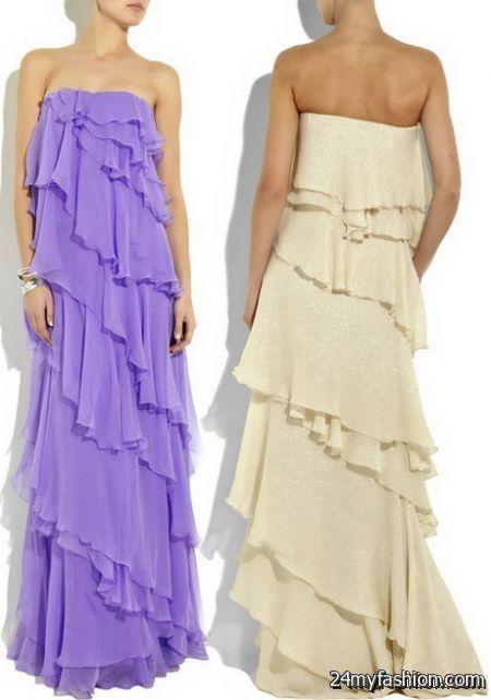 Ruffle maxi dresses review