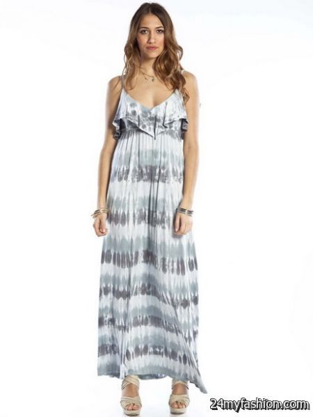 Ruffle maxi dresses review
