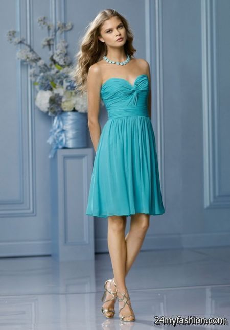 Short chiffon bridesmaid dresses review