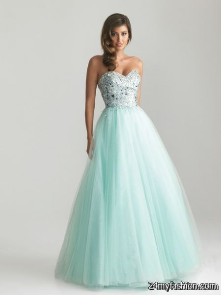 Tulle prom dresses review