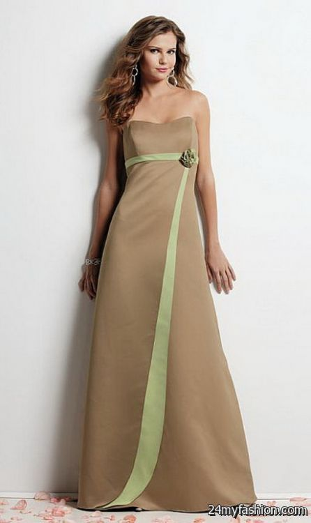 Two toned bridesmaid dresses review