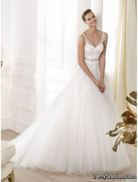 V neck wedding gowns review