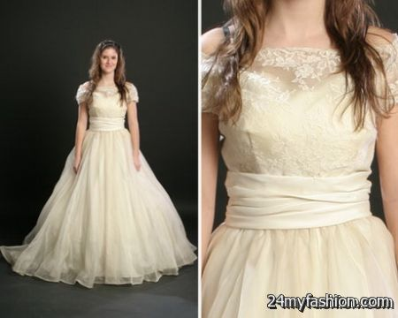 Wedding dress retro review