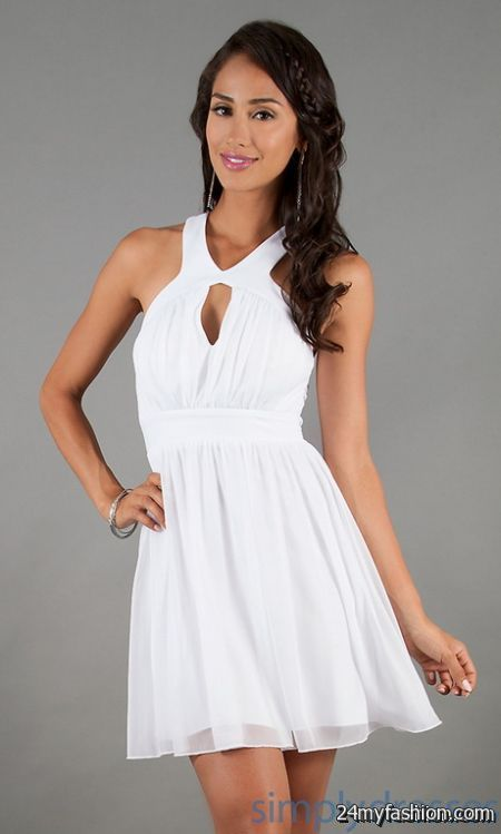 White dress casual review