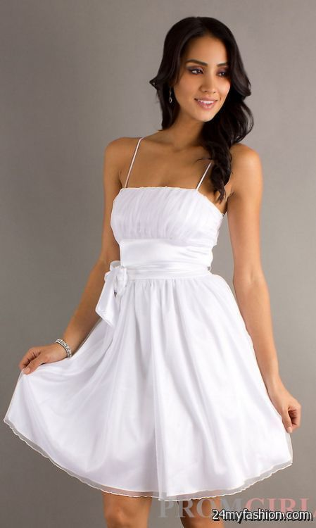 White dresses for juniors graduation review