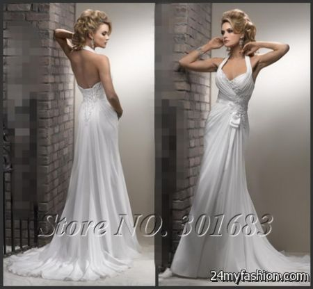 White flowing dress review
