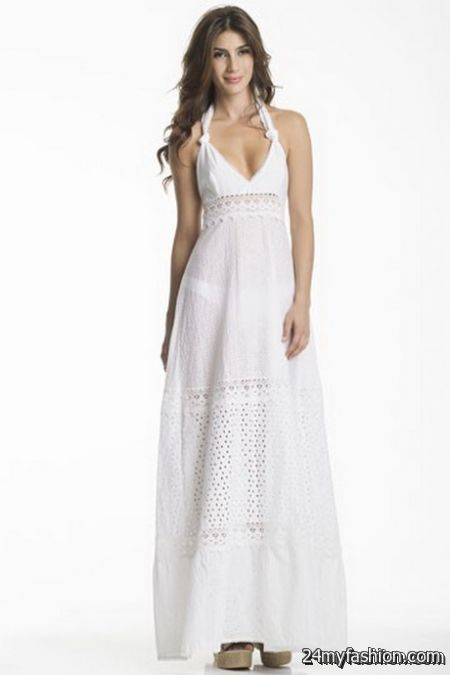 White lace maxi dresses review