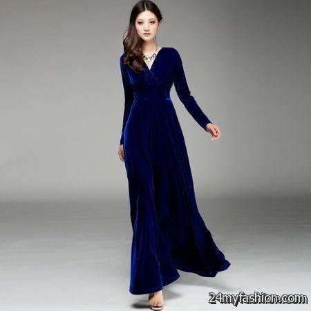 Women long dresses review