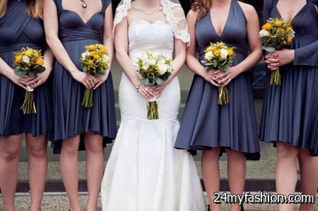 Wrap bridesmaid dresses review