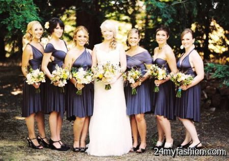 Wrap bridesmaid dresses review