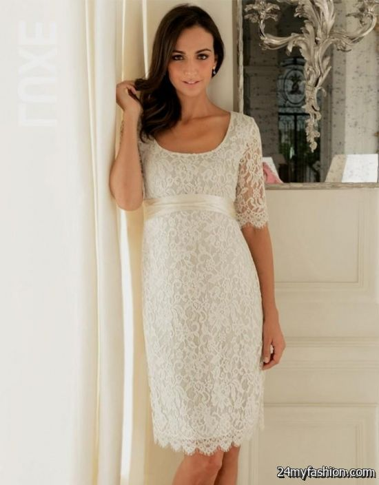 lace maternity gowns review