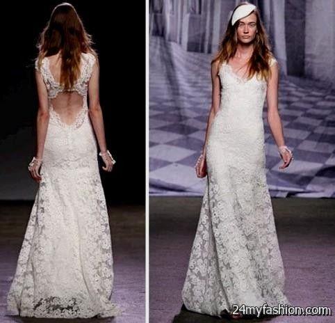 lace open back wedding dress monique lhuillier review