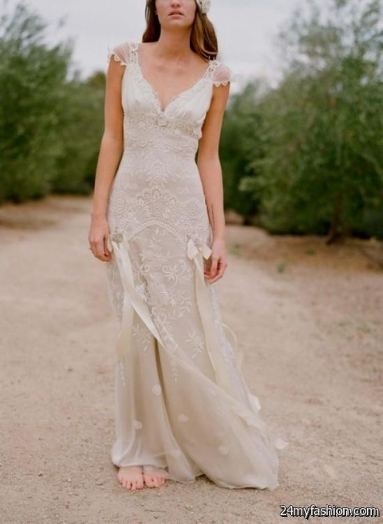 Taupe Lace Wedding Dress Review B2b Fashion