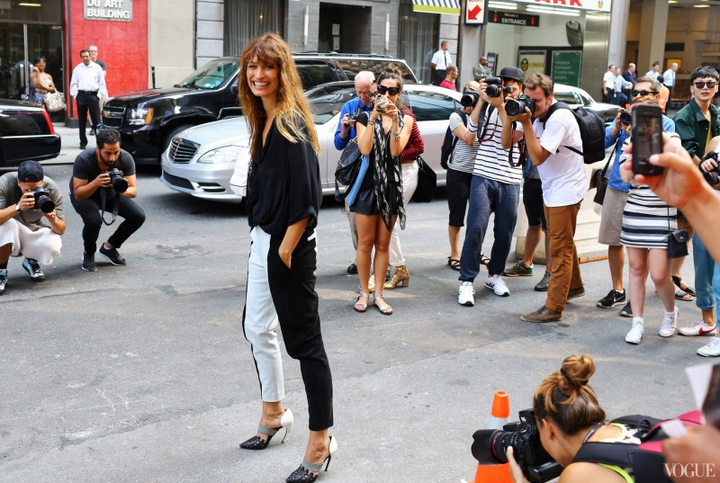 Street Style New York Fashion Week Spring 2014 Part Two Vogue