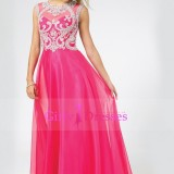 2015-Scoop-A-Line-Chiffon-Tulle-Floor-Length-Prom-Dresses-With-Beads__2323594_-_Weddbook