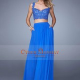 2015_New_Arrival_Two_Pieces_Straps_A_Line_Prom_Dresses_Chiffon_Floor_Length_With_Applique_US__149.99_CMDPYP4XGEK_-_CyberMondayDr