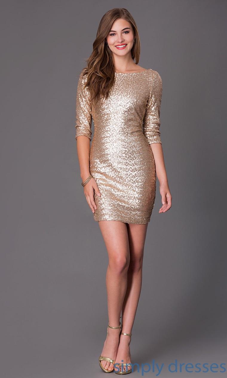 Buy matt gold dress cheap online