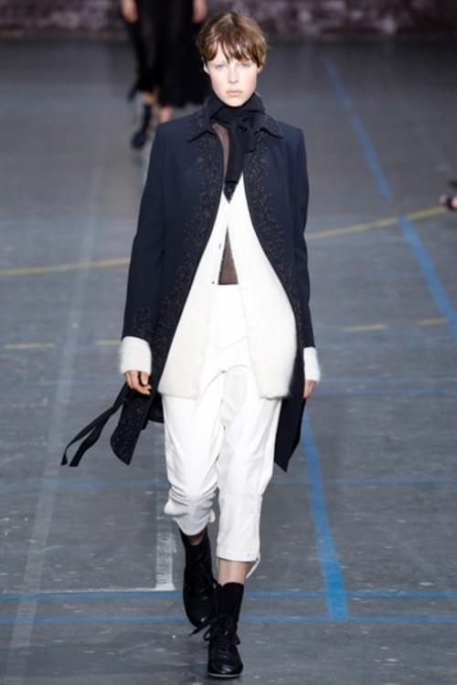 John Galliano fashion week 2017