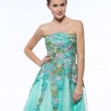 6073e01da3f PRETTY HOMECOMING DRESSES - Omenas Benen   Pretty Lace Strapless A-Line Short Zipper-Up Cocktail Dre.
