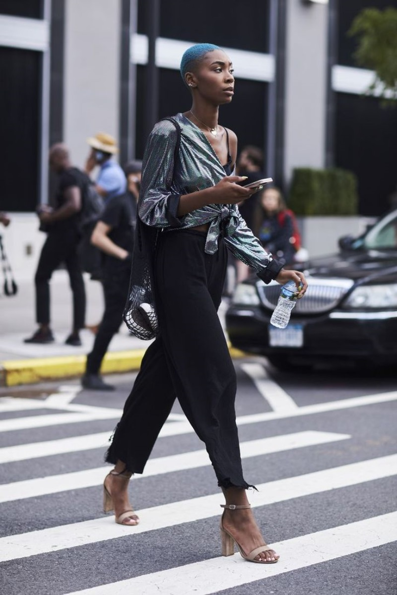 The Best Street Style At New York Fashion Week Spring Summer