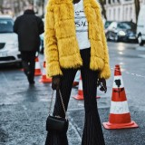 Yellow-Coat-street-style-paris-fashion-week-pfw-march-2018