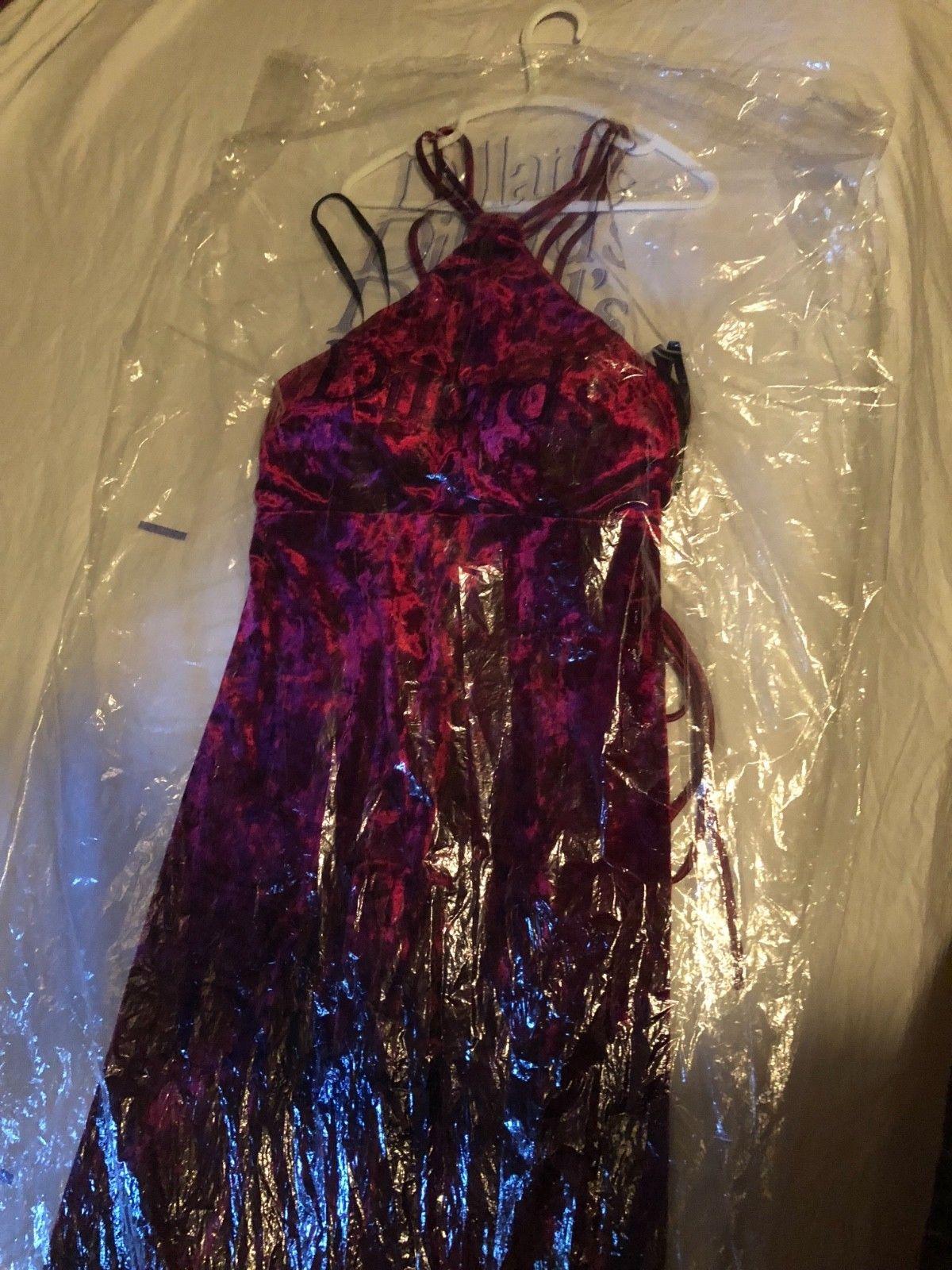 b7551cb55ea Cool dillards velvet prom dress size 10 2018