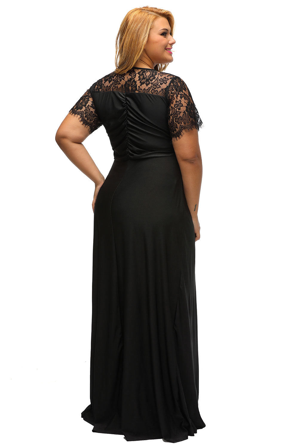 Cool USA Plus Size Womens Formal Gown Wedding Bridesmaid Evening ...