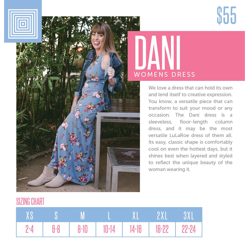 a1ee0757b63 Amazing LuLaRoe DANI Dress ~ LARGE Tank Maxi ~ Gorgeous Floral Print ...