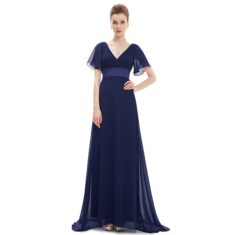 cool everpretty navy blue evening weddings bridesmaid