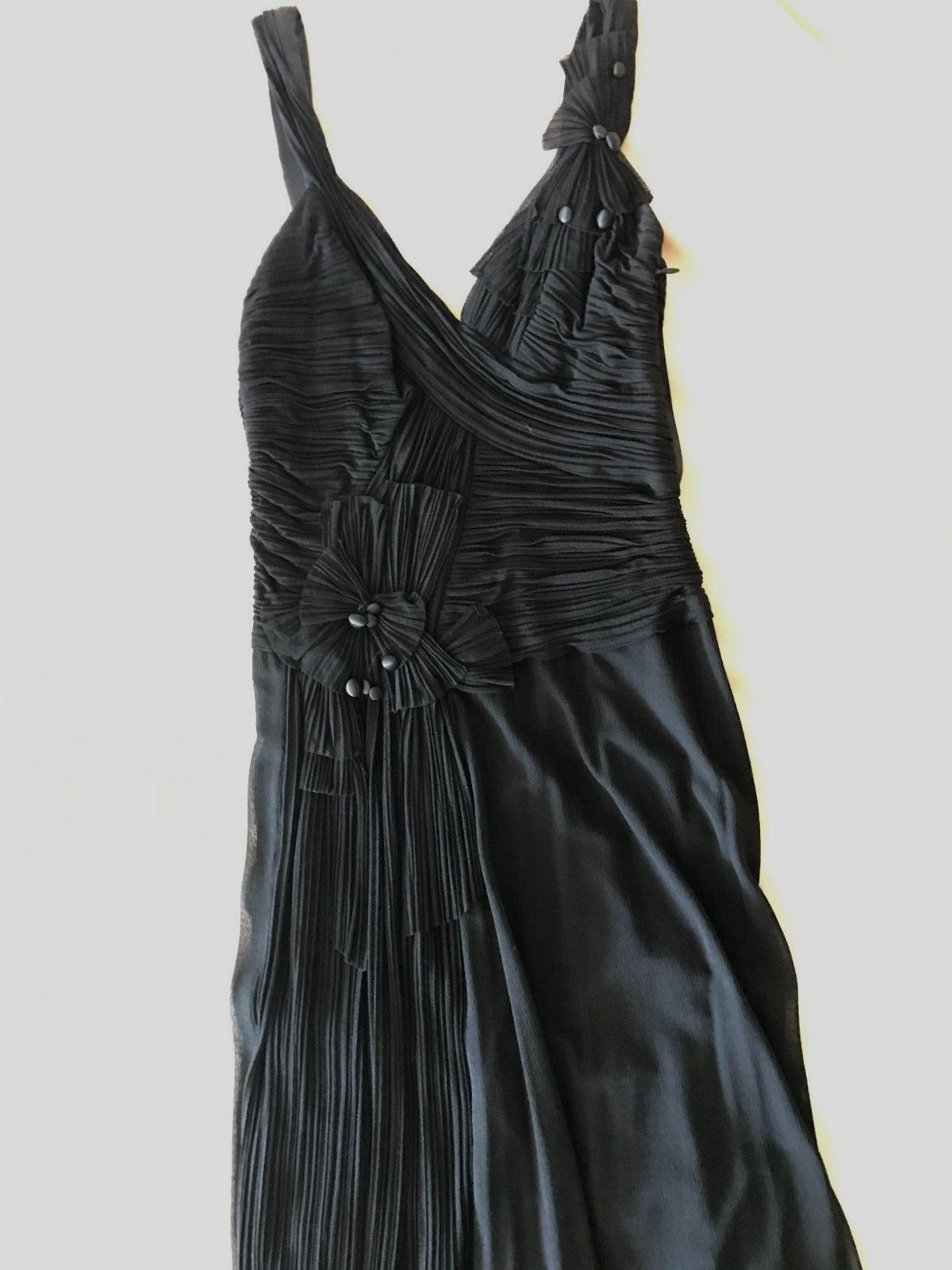 Awesome BCBG Max Azria XS 0 2 Black Gown Prom Bridesmaid Wedding ...