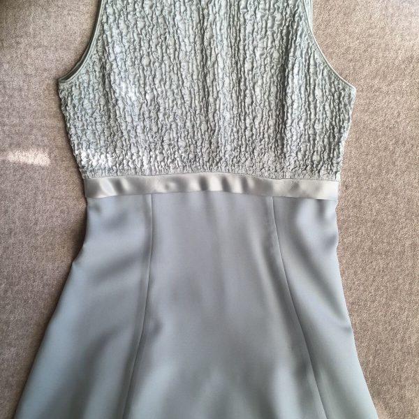 Awesome Light Blue Formal Dress Weddings Bridesmaid Dress Size 8