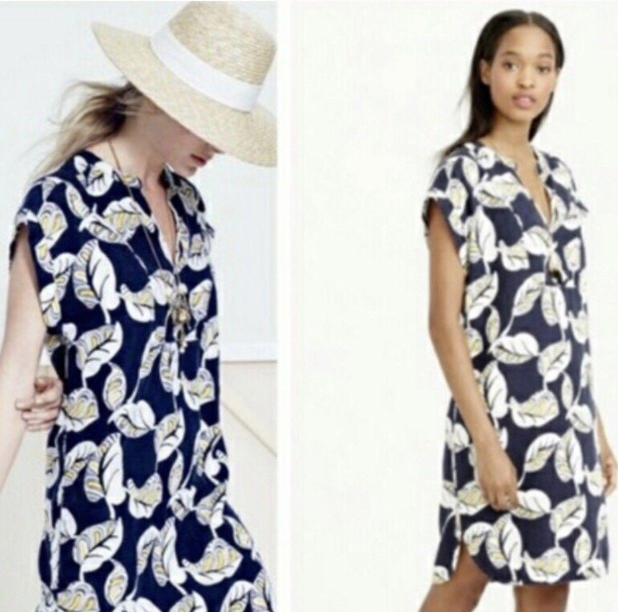 Cool NWT J Crew Womens Shift Dress Floral Print Black Size xxs MSRP ... 2fbe61766