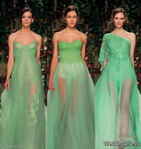 Abed Mahfouz Spring women's Couture Dresses