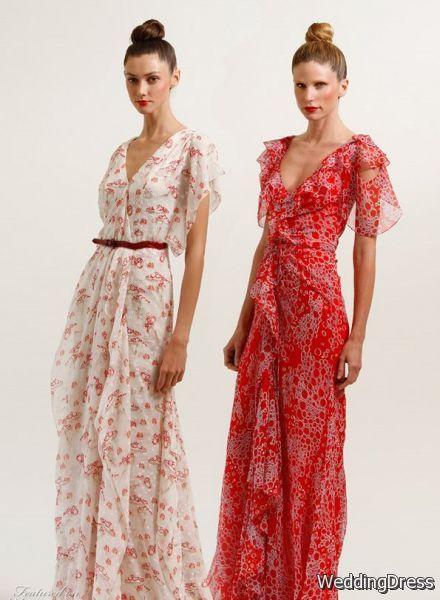 Bella Swan's Wedding Dress + Carolina Herrera Resort women's
