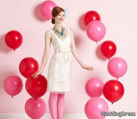 2a7f115f17 Kate Spade Short Wedding Dresses   B2B Fashion