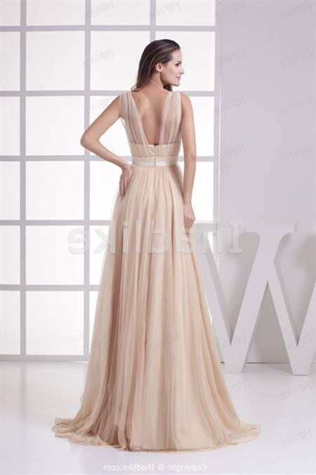 Long dress for a wedding guest