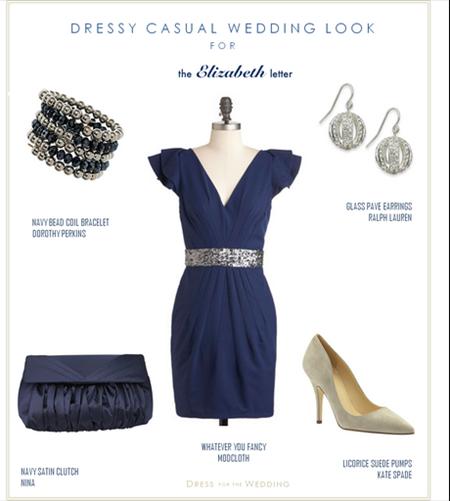 Navy dresses for weddings