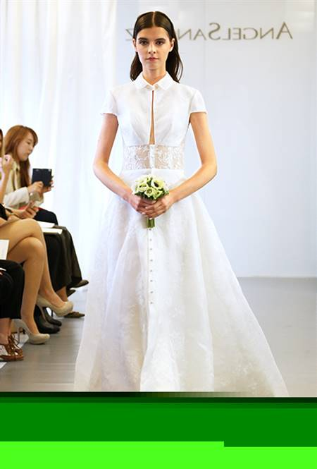 New wedding dress styles women's