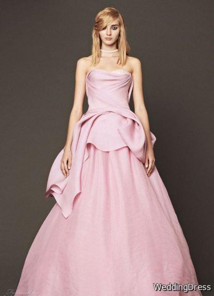 4e26b6faf0086 Vera Wang Bridal Fall women's Wedding Dresses | B2B Fashion