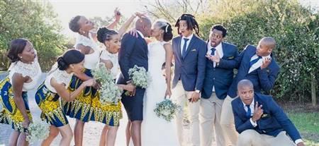 african print bridesmaid dresses